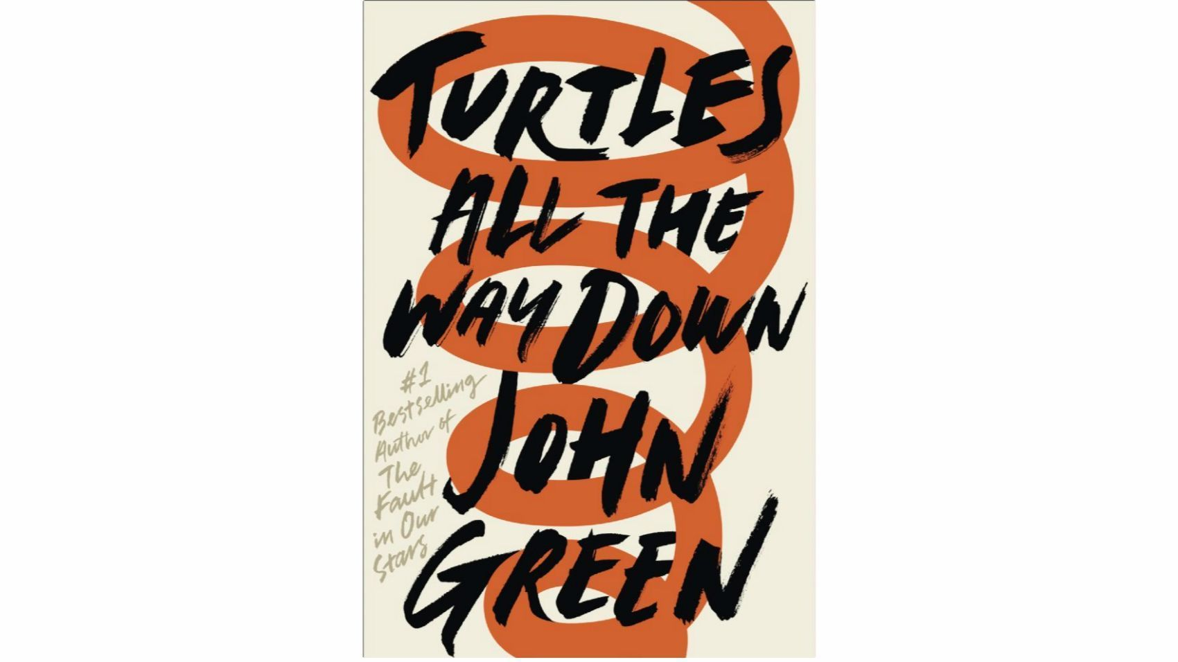 """This image released by Penguin shows """"Turtles All the Way Down."""" by John Green."""