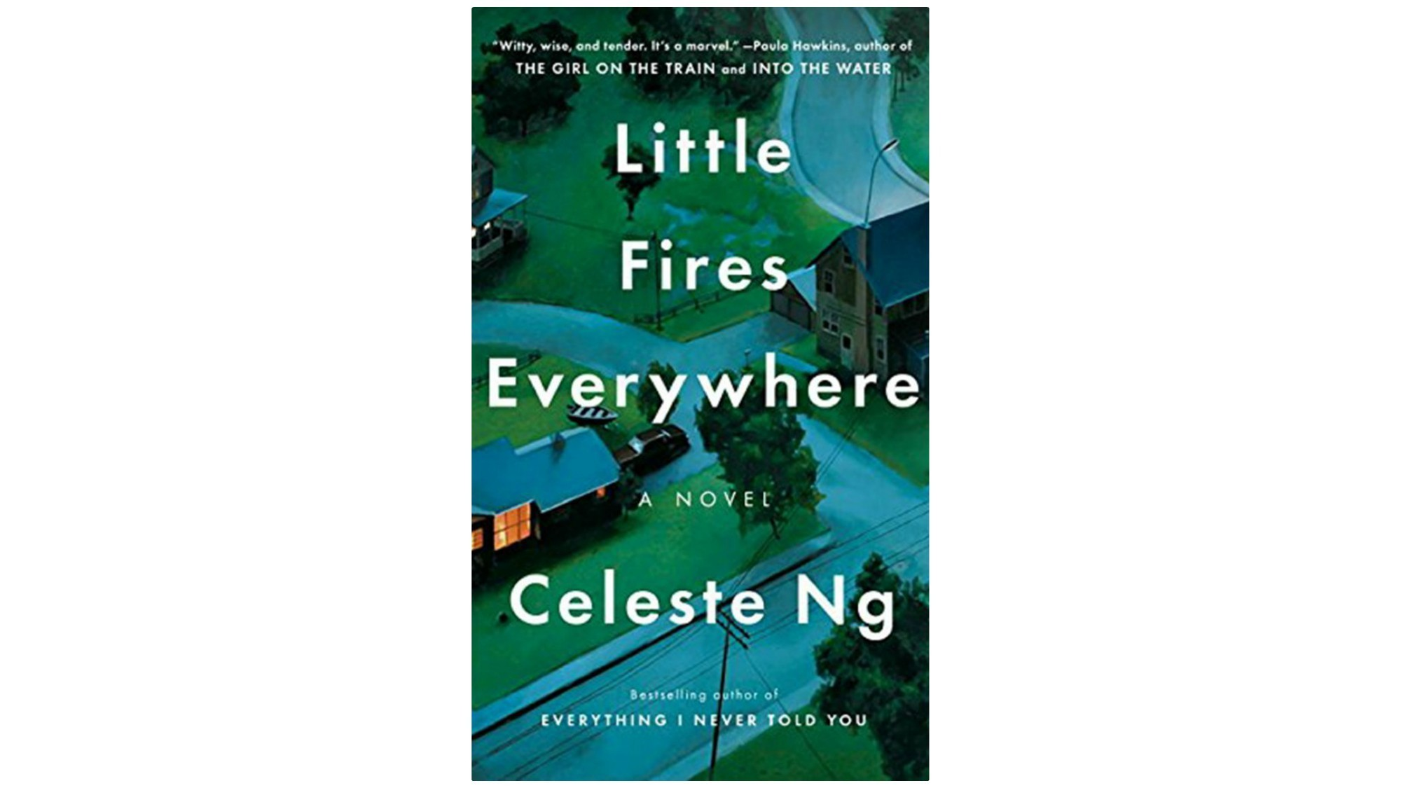"""Book jacket for Celeste Ng's """"Little Fires Everywhere."""""""