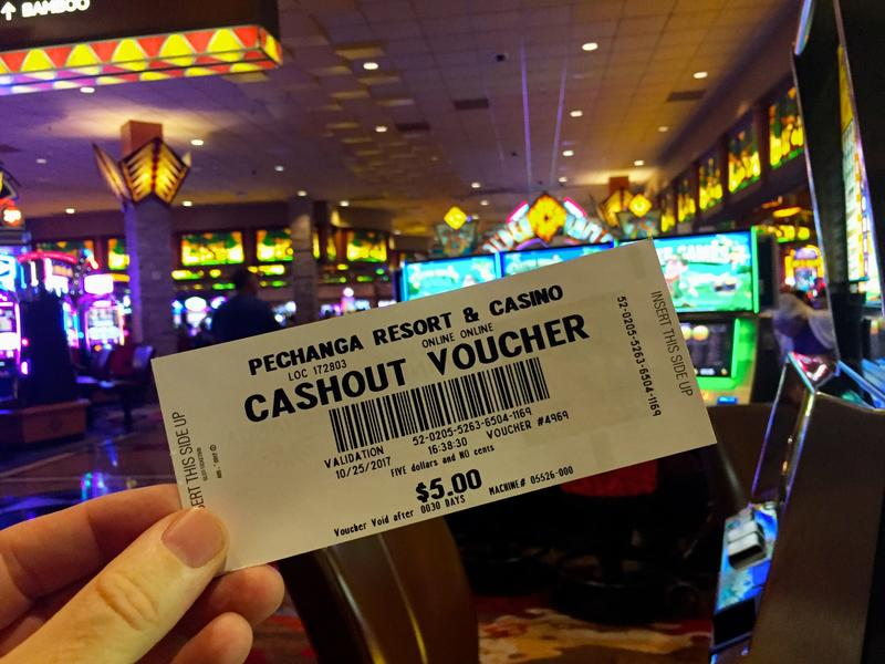 I bet a dollar, won $5, and spent it all (and then some) on the buffet. (Christopher Reynolds / Los Angeles Times)