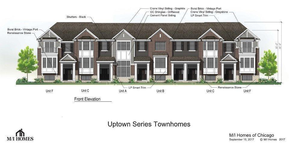 New Townhouses Proposed For Naperville Lot Near Route 59