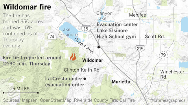 Motorcycle crash sparked 350-acre fire in Cleveland National Forest ...