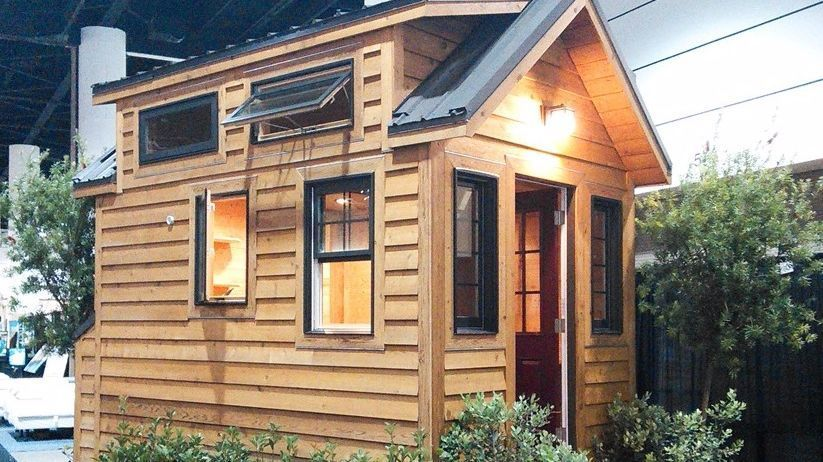 Tiny house by Tiny Home Builders of DeLand.