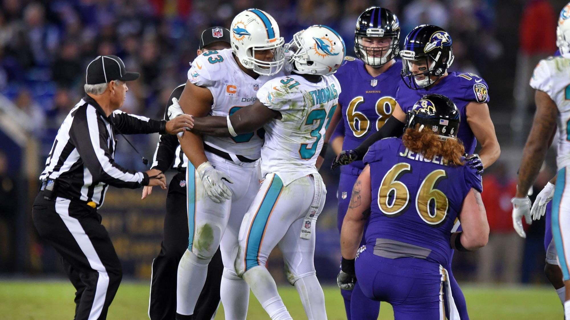 Ryan Mallett on Dolphins Ndamukong Suh He takes the bait pretty