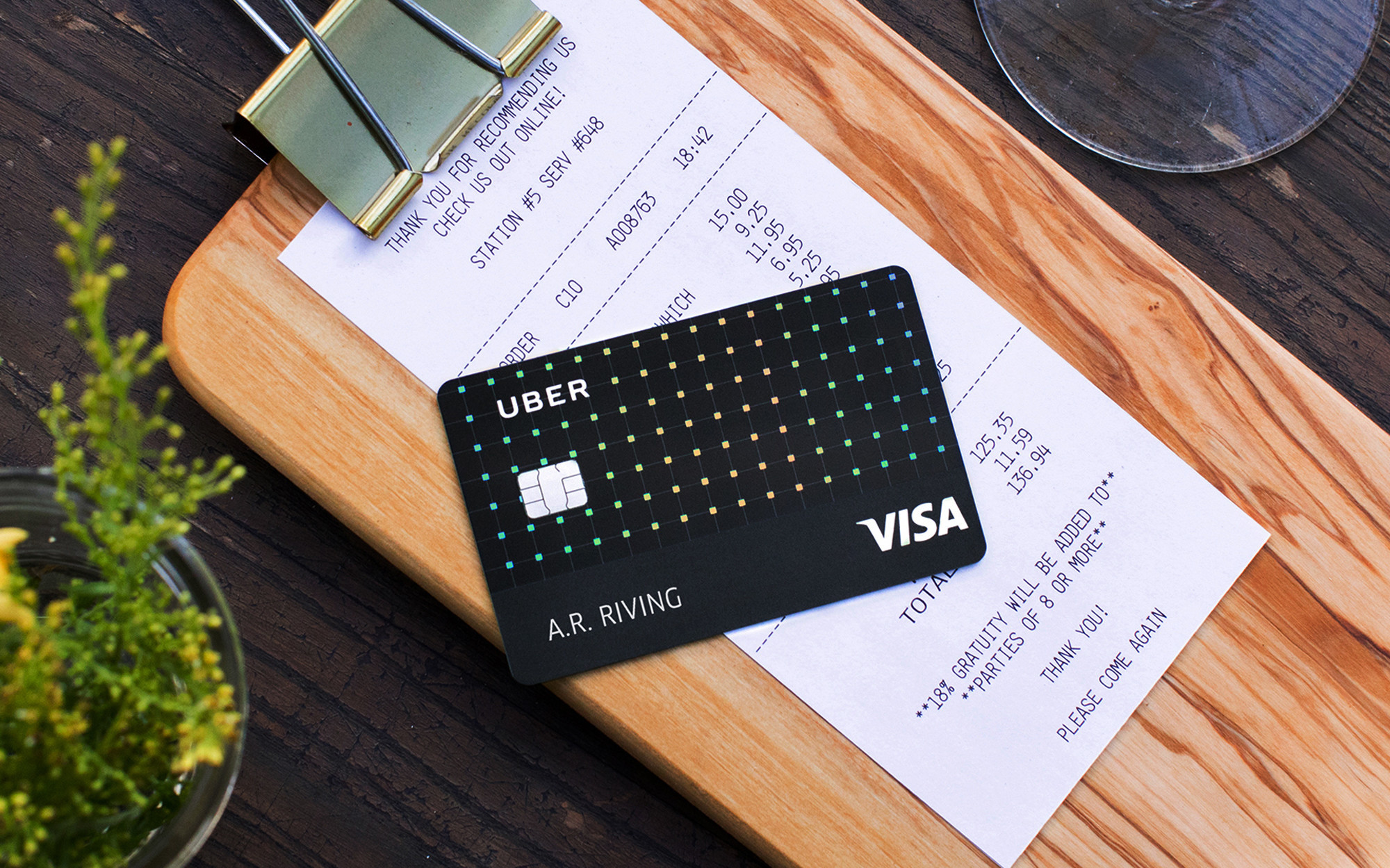Uber rides into credit card market with no-fee credit card ...
