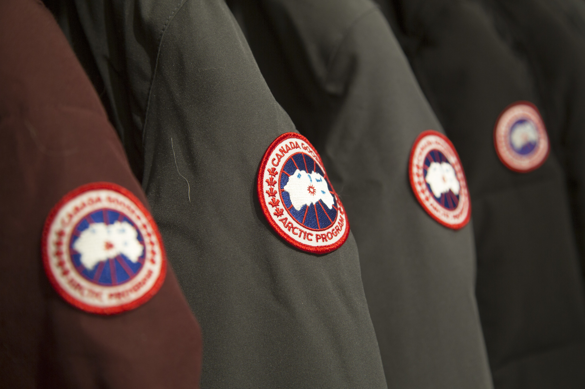 canada goose coat repair