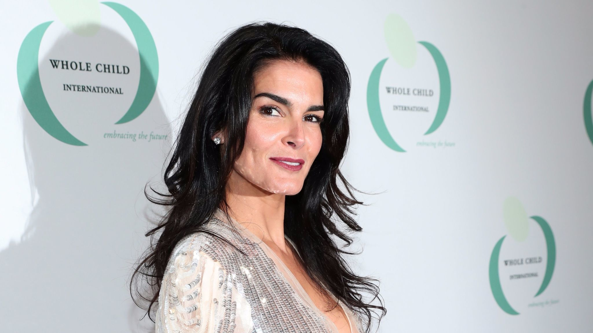 Angie Harmon at the Whole Child International Gala.