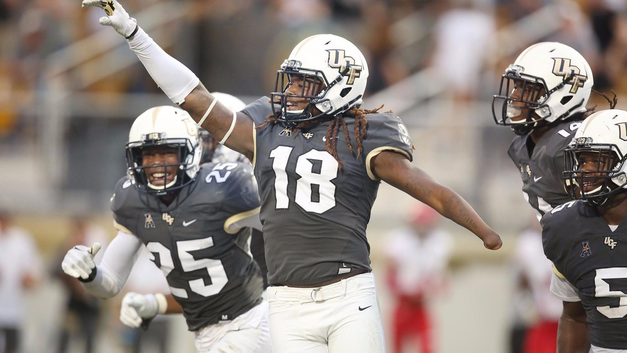Ucf Sets Scoring Record During 73 33 Rout Of Austin Peay Orlando