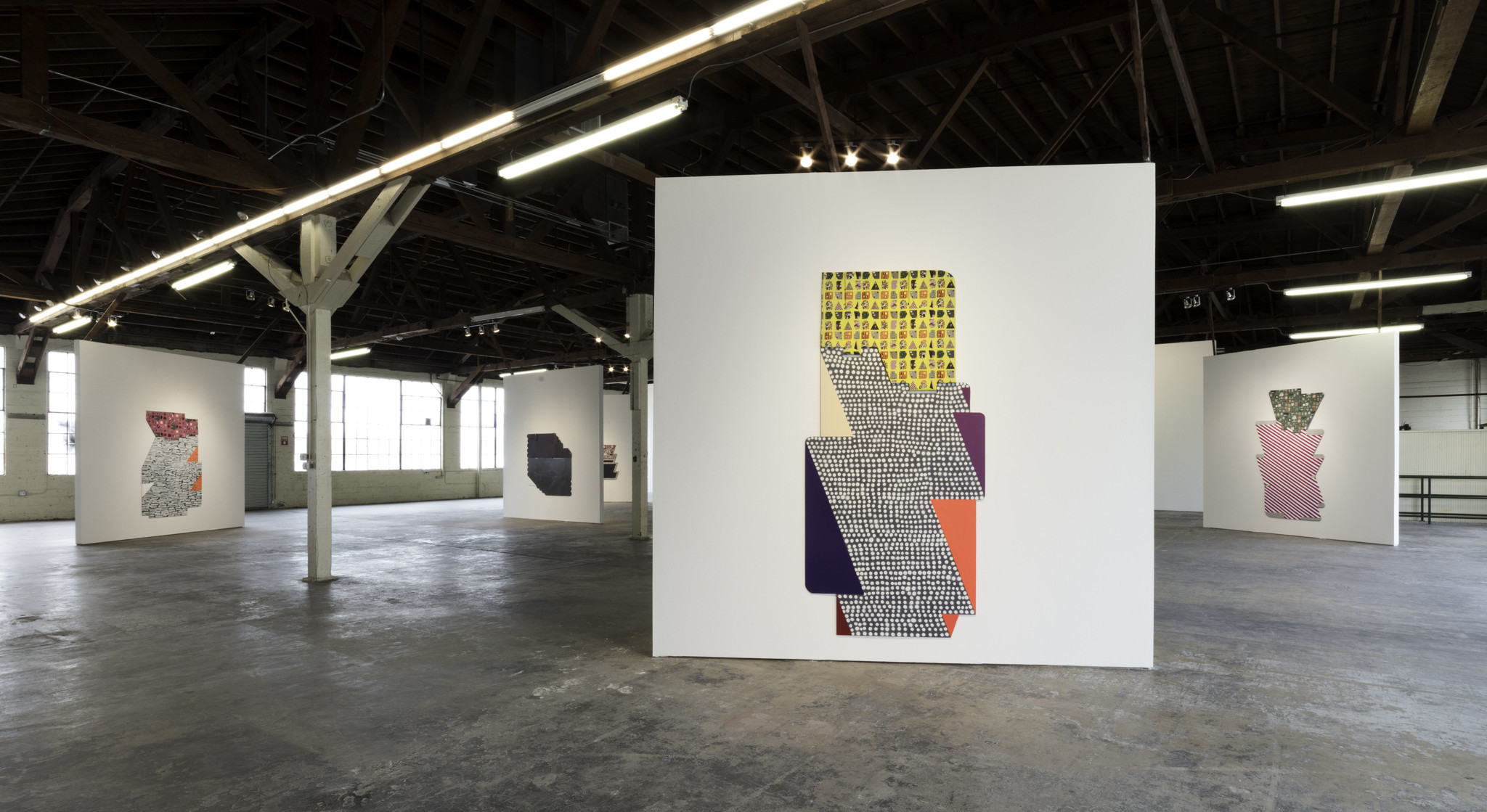 Installation view of the Ruth Root show at 356 Mission.