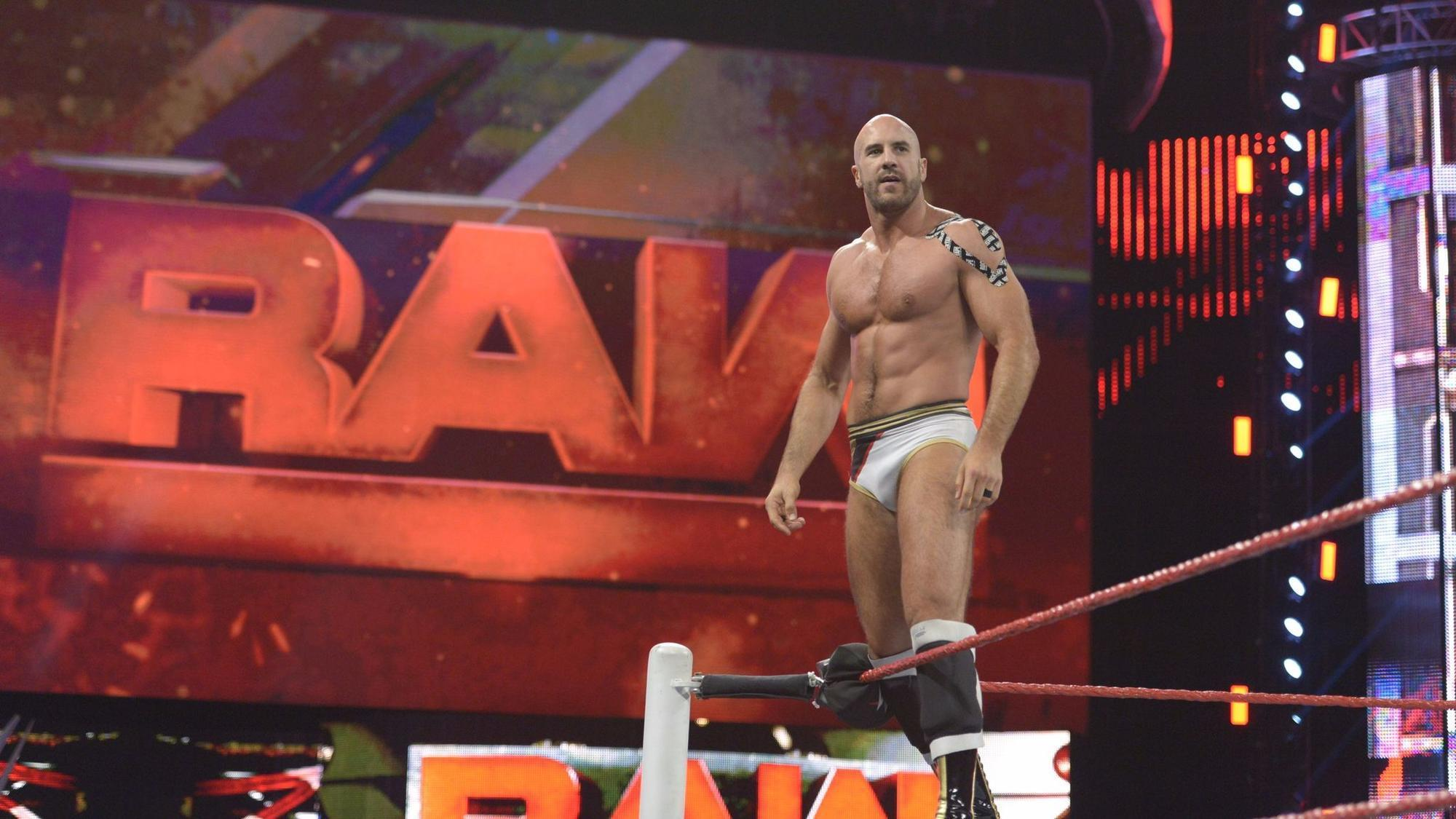 Cesaro 2018 Bold WWE World Champion