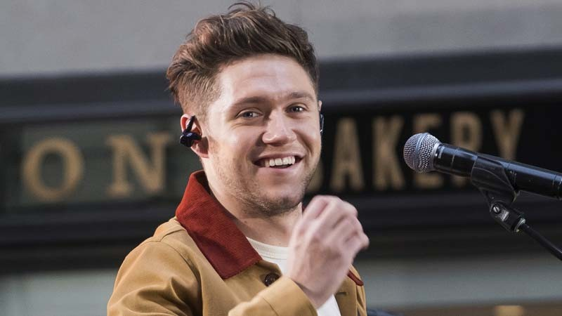 "Niall Horan on the ""Today"" show in New York City on Oct. 26, 2017. (Charles Sykes / Associated Press)"