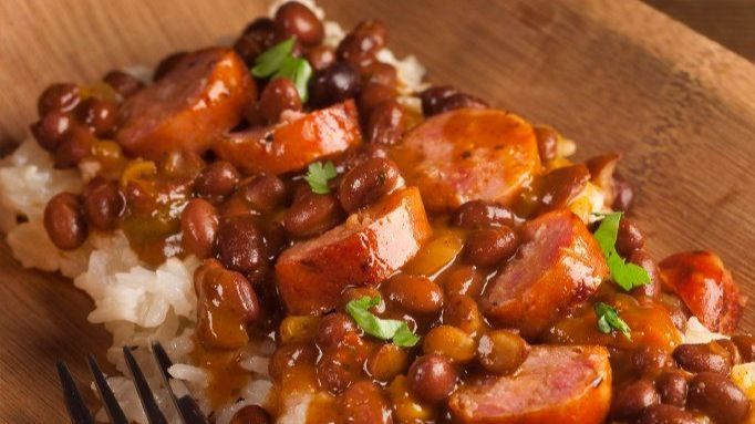 How to pair wine: Bold flavors match beans, rice and andouille dinner