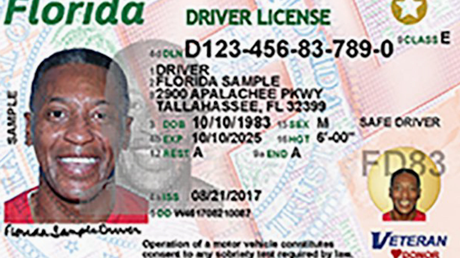 Driver 39 s licenses with fresh new look arrive in south for Florida highway safety and motor vehicles phone number
