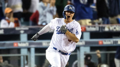 Pederson is the Dodgers' Mr. Joctober