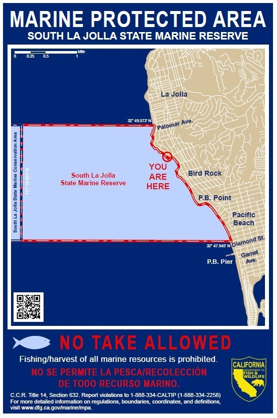These 'You Are Here' signs will be replaced where needed, and new ones will be posted in La Jolla.