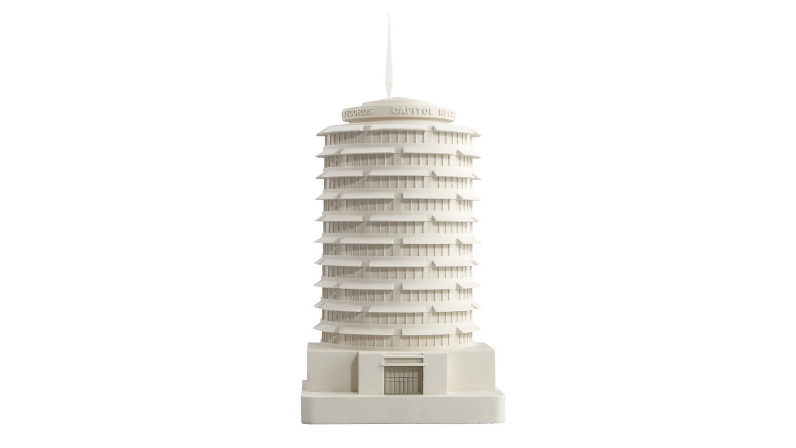 Capitol Records Building architectural modelCredit: Chisel and Mouse