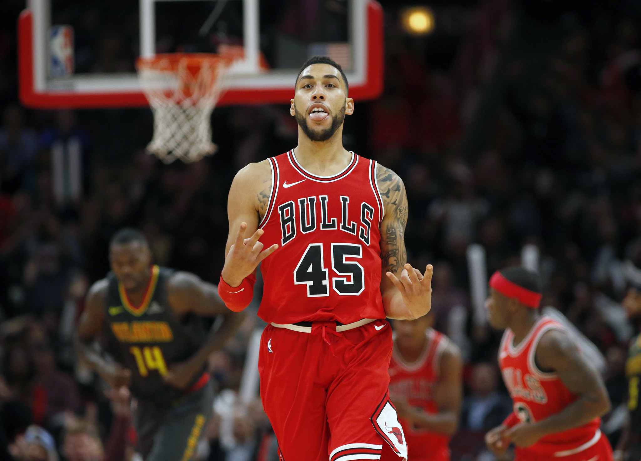 Perfekt Denzel Valentine Aiming To Become A Full Time Starter   Chicago Tribune