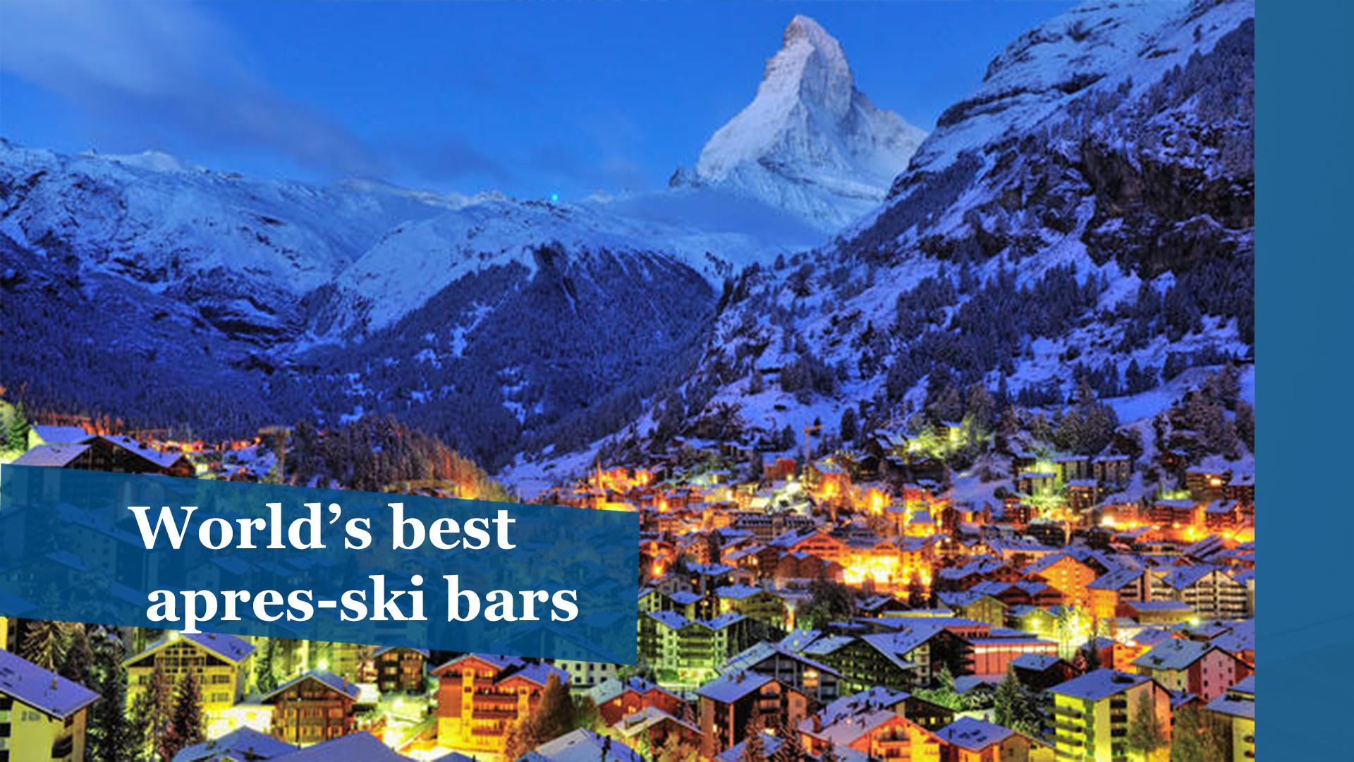 Photos: World's best après-ski bars