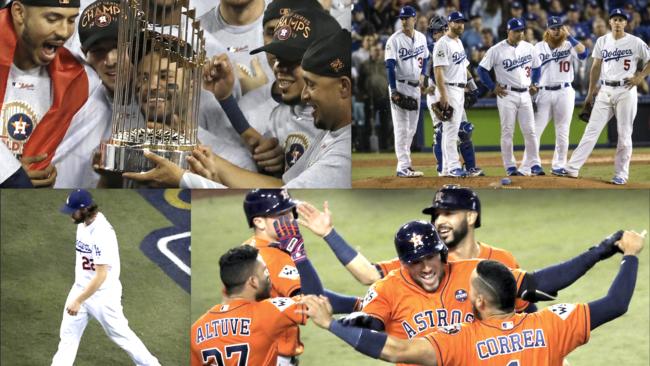 FOTOS  10 momentos en la Serie Mundial  Dodgers Vs Astros (Juego 7) 6ca24ce5d9f