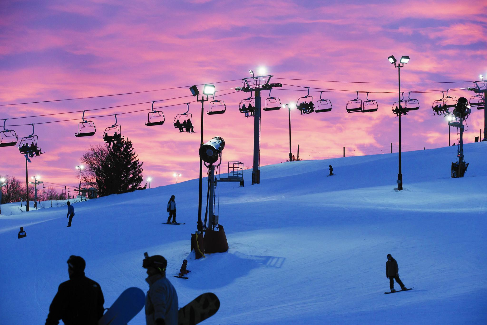 Where to ski within a (mostly) 3-hour drive of Chicago