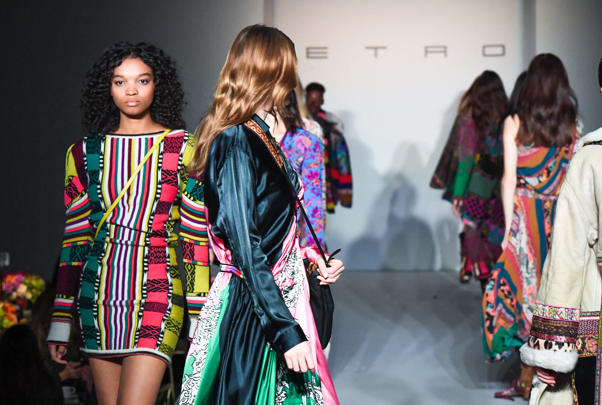 The MOCA luncheon, which was presented by the MOCA Projects Council, featured a runway show of Etro's fall/winter 2017 collection.