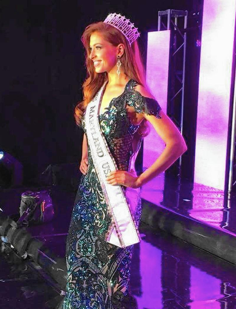 Brittinay Nicolette of Fallston named Miss Maryland USA