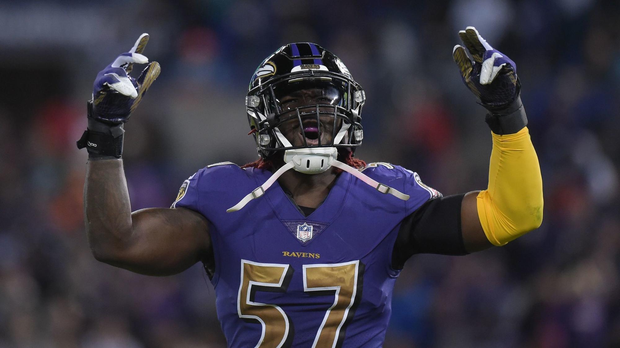 Half man half amazing C J Mosley is living up to Ravens