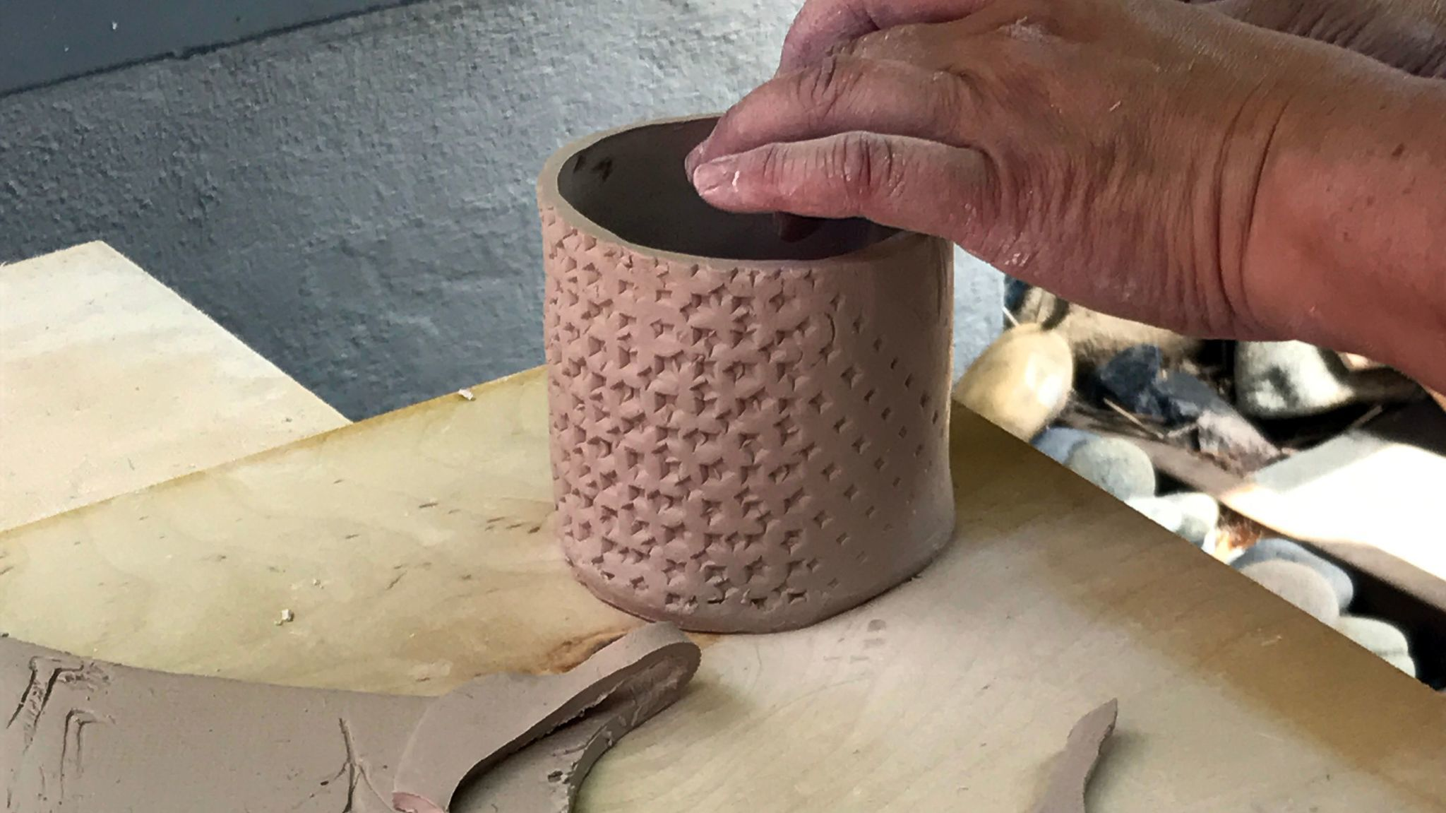 The idea is to get people off their screens and making stuff with their own hands.