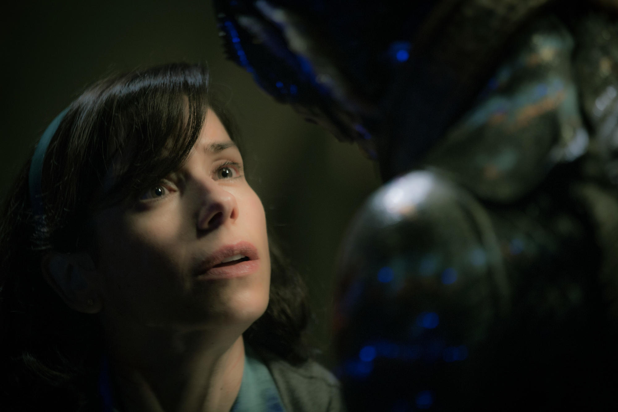 "Sally Hawkins in ""The Shape of Water."" (Kerry Hayes / Fox Searchlight Pictures)"