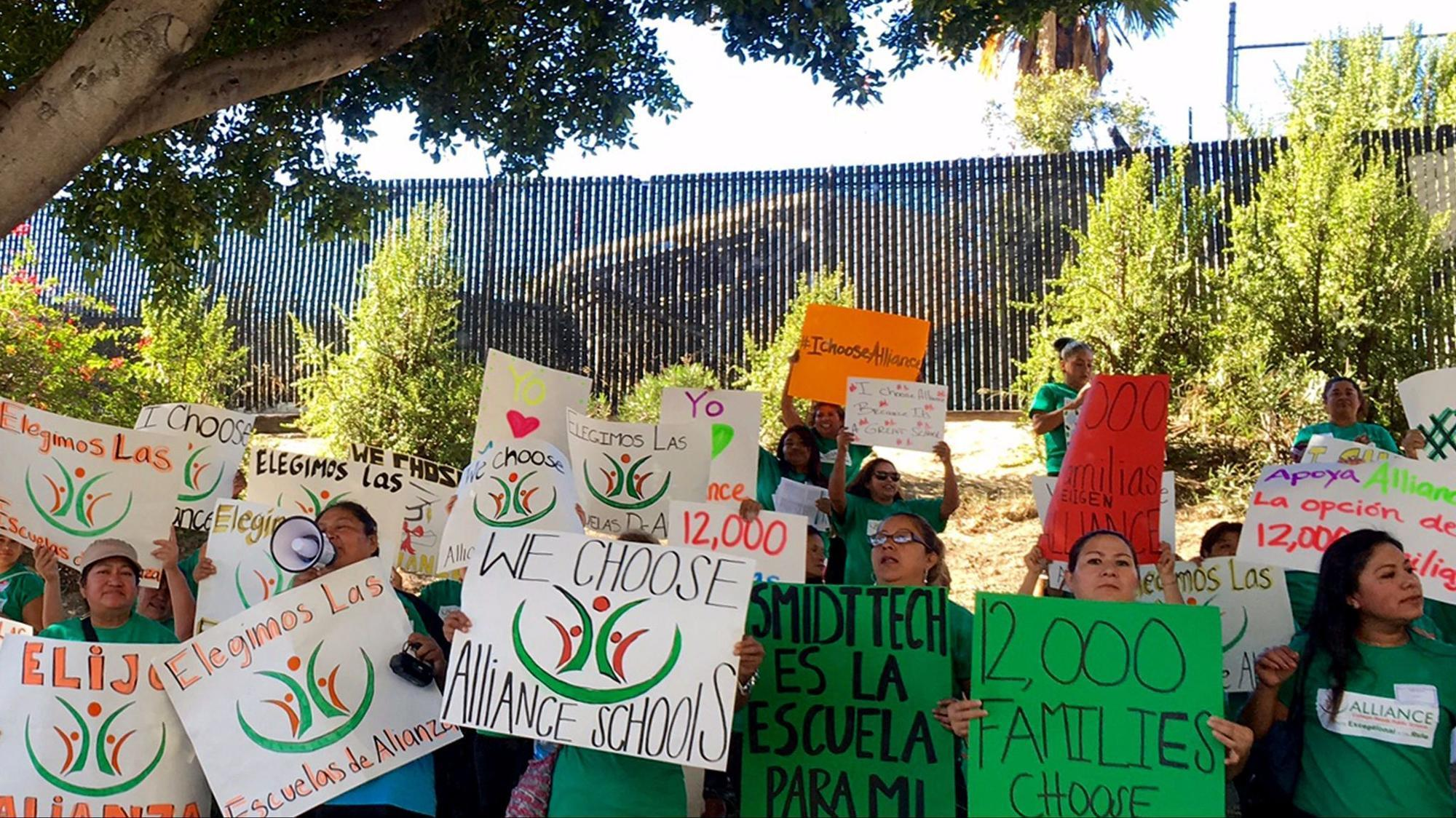 Showdown looming between L.A. Unified and charter schools