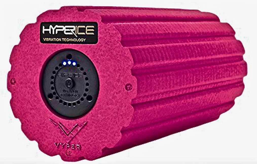 "SHAKE, RATTLE ROLLER A foam roller that vibrates. The Hyperice Vyper 2.0 is one of those ""why did"