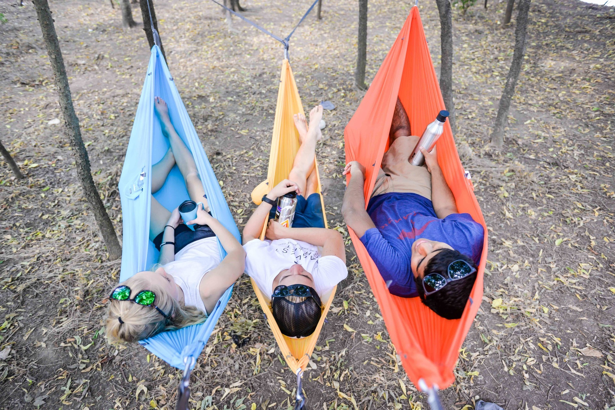 CAMPING HAMMOCK The Kammock Wallaby, which helped kick-start the hot camping-hammock market, weighs