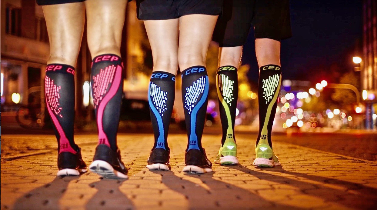LOUD LEGS Many runners expensive compression socks in the believe that it keeps their calf muscles s