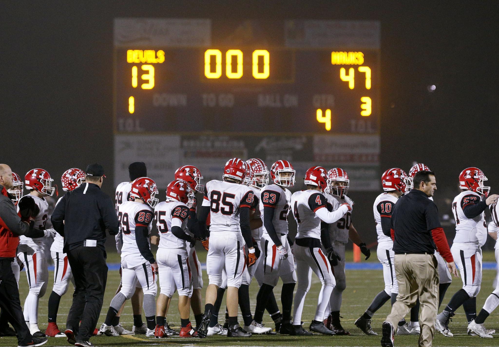 Chicago Area High School Football Week 12 Rankings