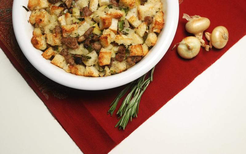 Chestnut-sage stuffing