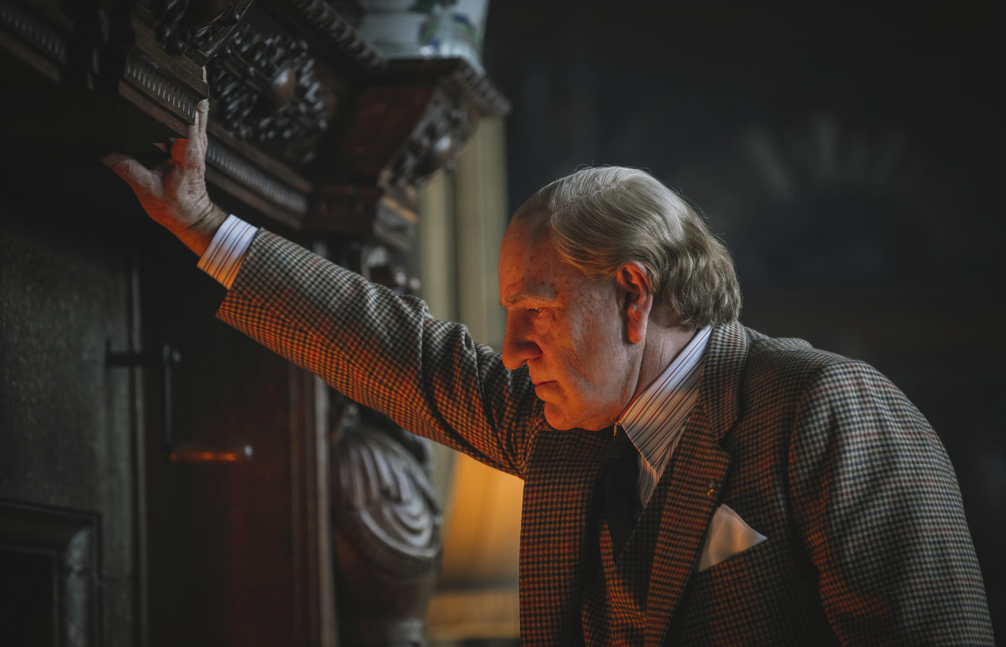 "Kevin Spacey portrays J. Paul Getty in ""All the Money in the World."" (Associated Press)"