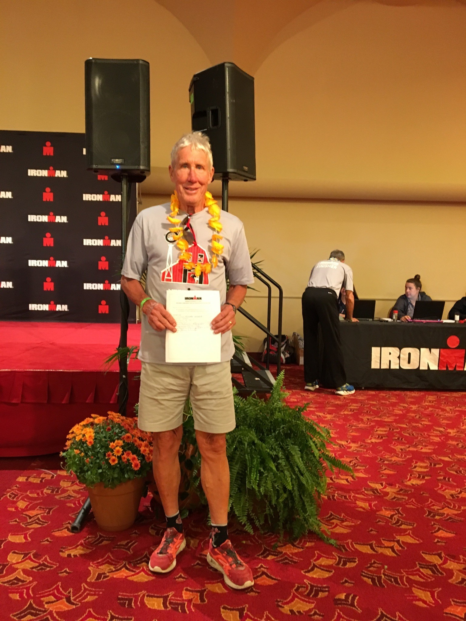 Dennis Kasischke qualified for Ironman Kona 2018.