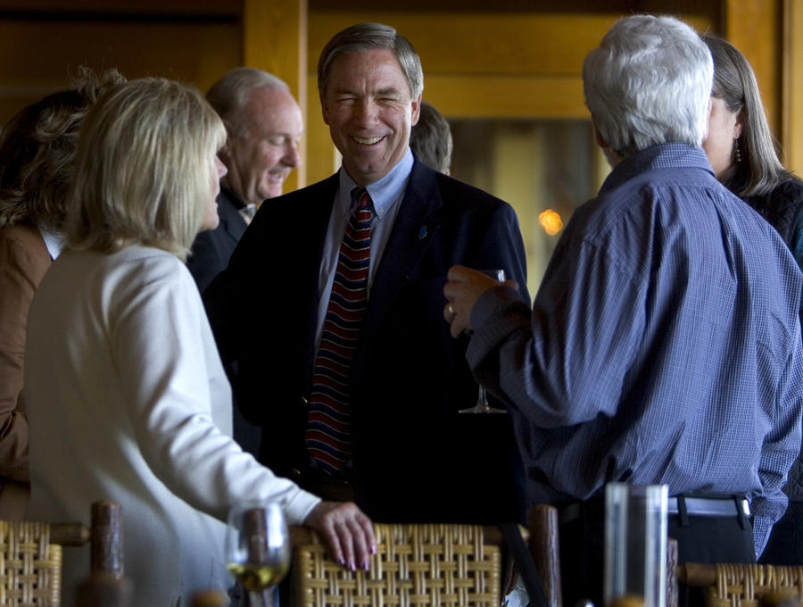 Doug Ose attends a fundraiser in the Tahoe City area during an unsuccessful 2008 campaign for Congress. (Robert Durell / Los Angeles Times)