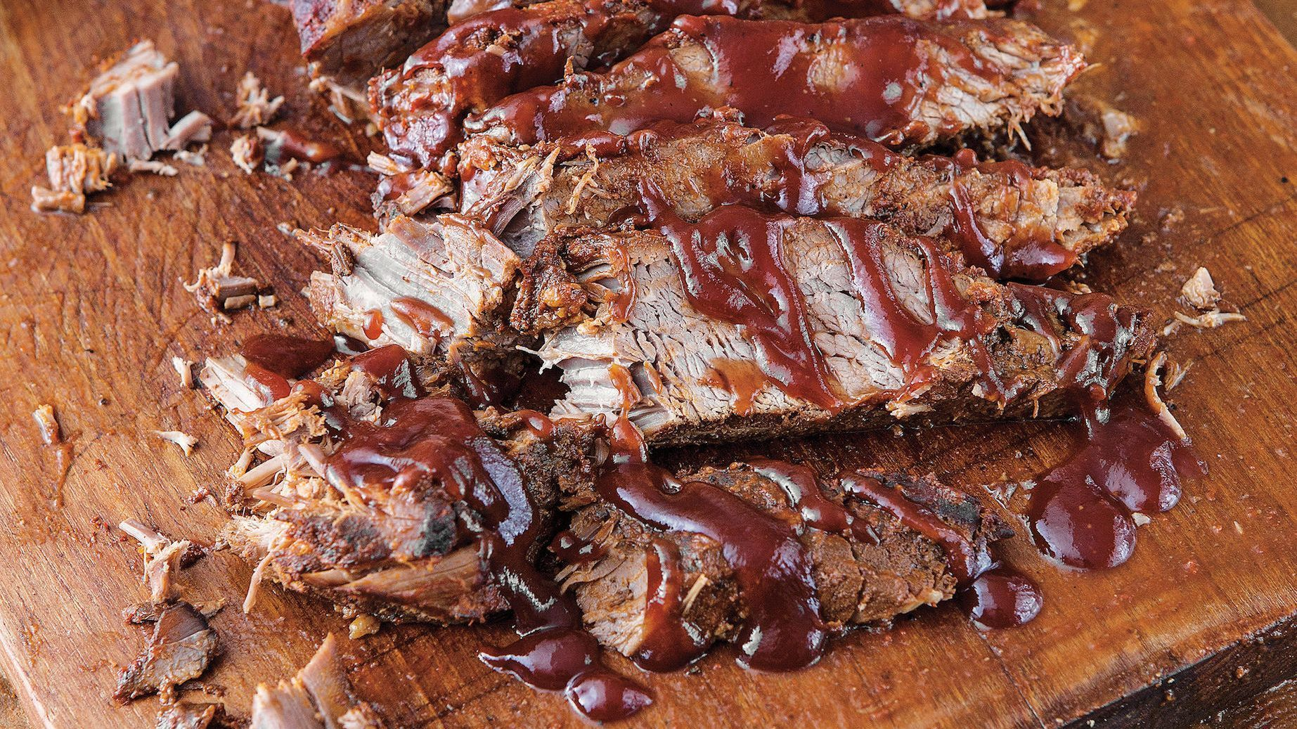 Slow-cooker brisket tastes like barbecue