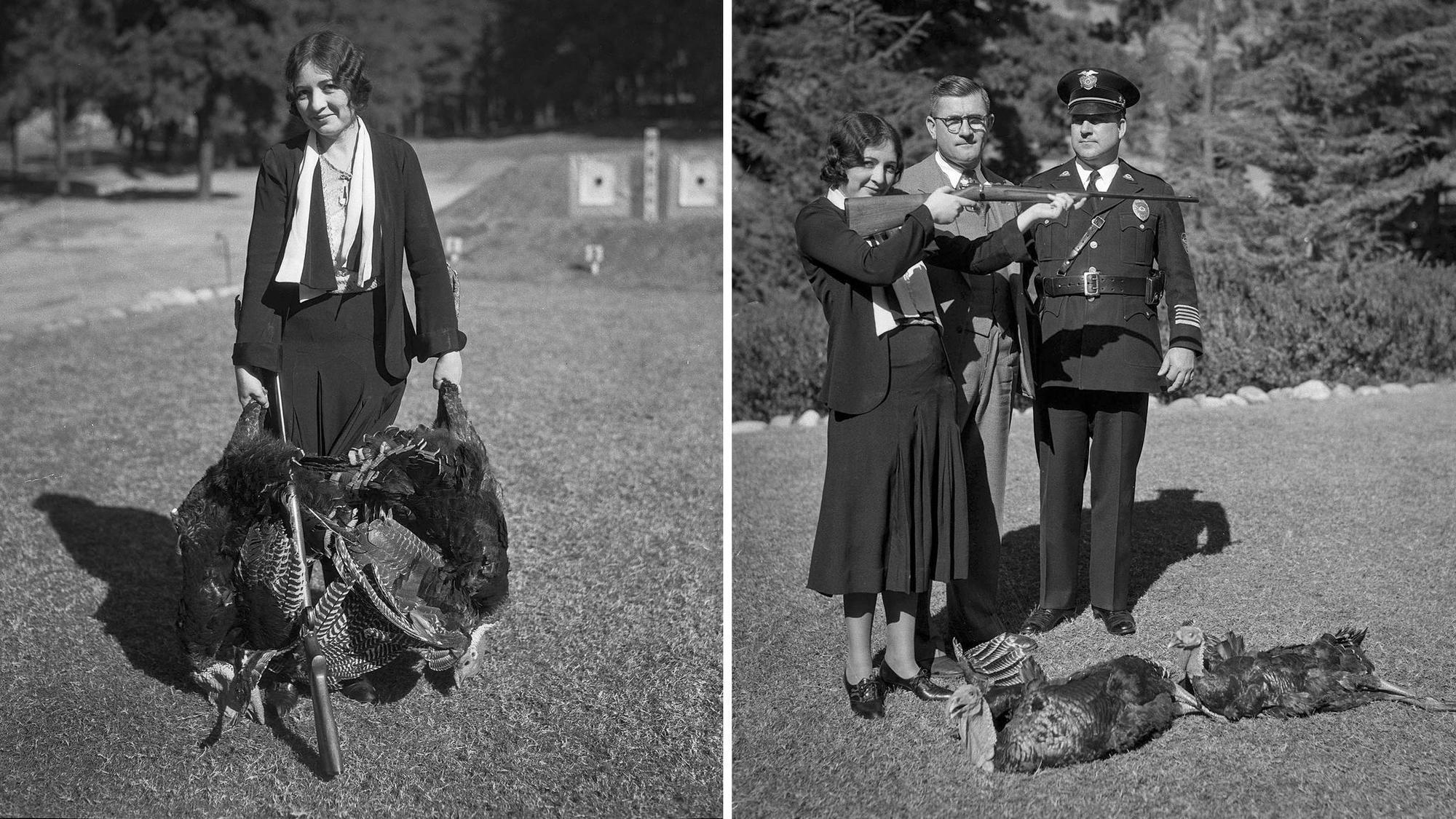 From the Archives: Turkey prizes at 1932 shooting contests