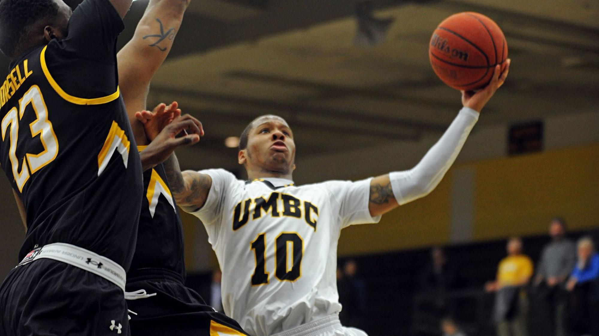 In Ryan Odom's second year at UMBC, great expectations — and a good sweat, too