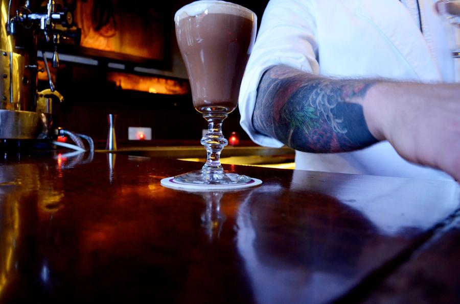 The House Cappuccino at Tosca Cafe (Christopher Reynolds / Los Angeles Times)