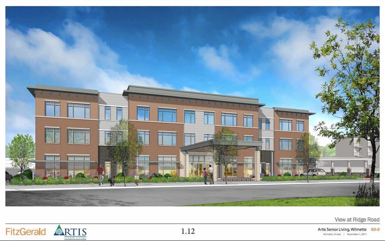 Plan commission OKs senior care building at Ridge-Wilmette corner ...