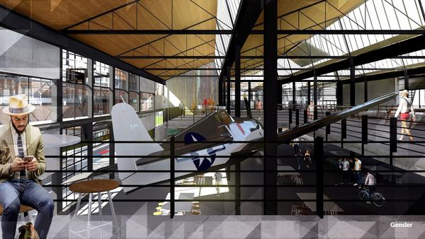 Historic aerospace plant to be turned into 'creative' offices in El Segundo