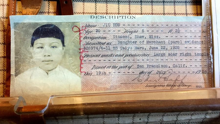 Museum exhibit, Angel Island Immigration Station (Christopher Reynolds/Los Angeles Times)