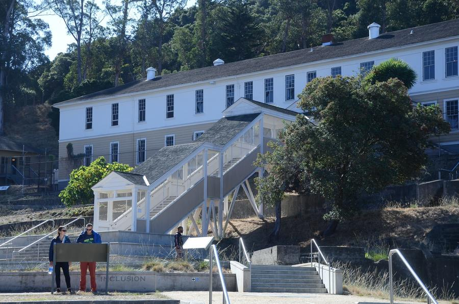 Angel Island Immigration Station. (Christopher Reynolds/Los Angeles Times)