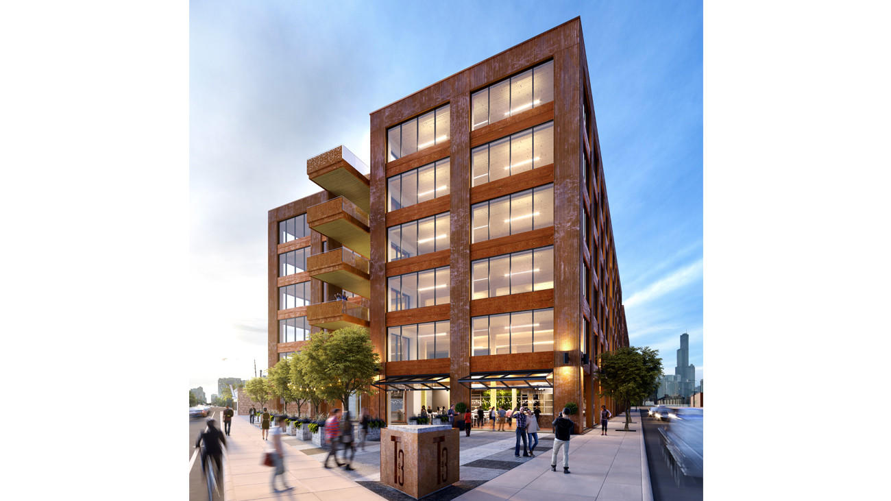 Goose Island wooden high-rise