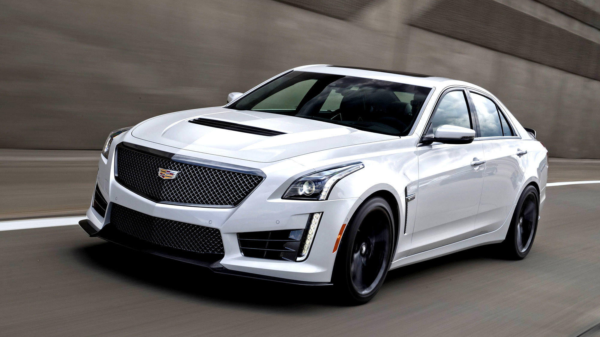 cadillac 39 s cts v is a high end hooligan that doubles as a daily driver la times. Black Bedroom Furniture Sets. Home Design Ideas