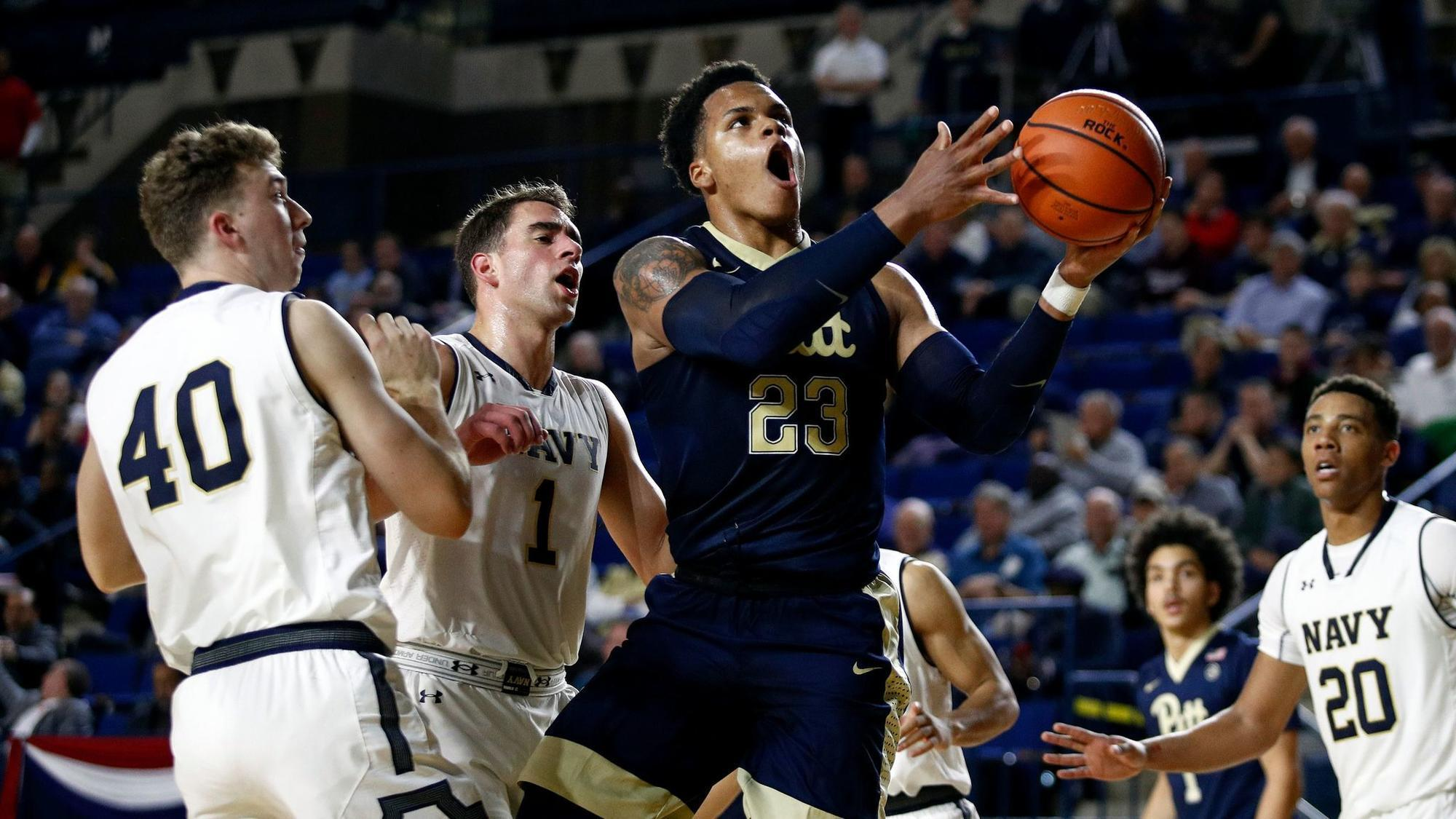 Dulin, Anderson lead way as Navy defeats Pittsburgh, 71-62, in Veterans Classic
