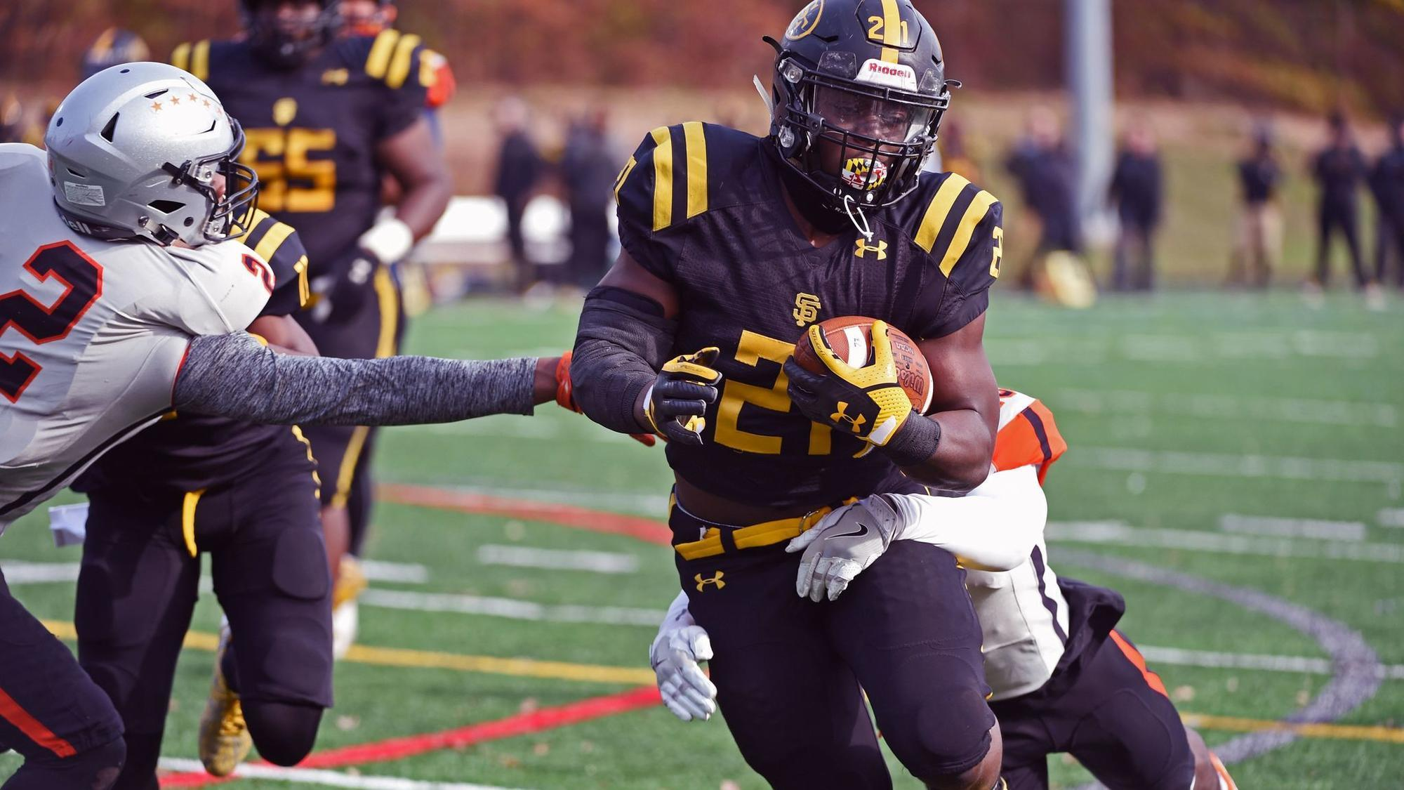 Big plays drive St. Frances, Gilman to wins in MIAA A Conference football semifinals