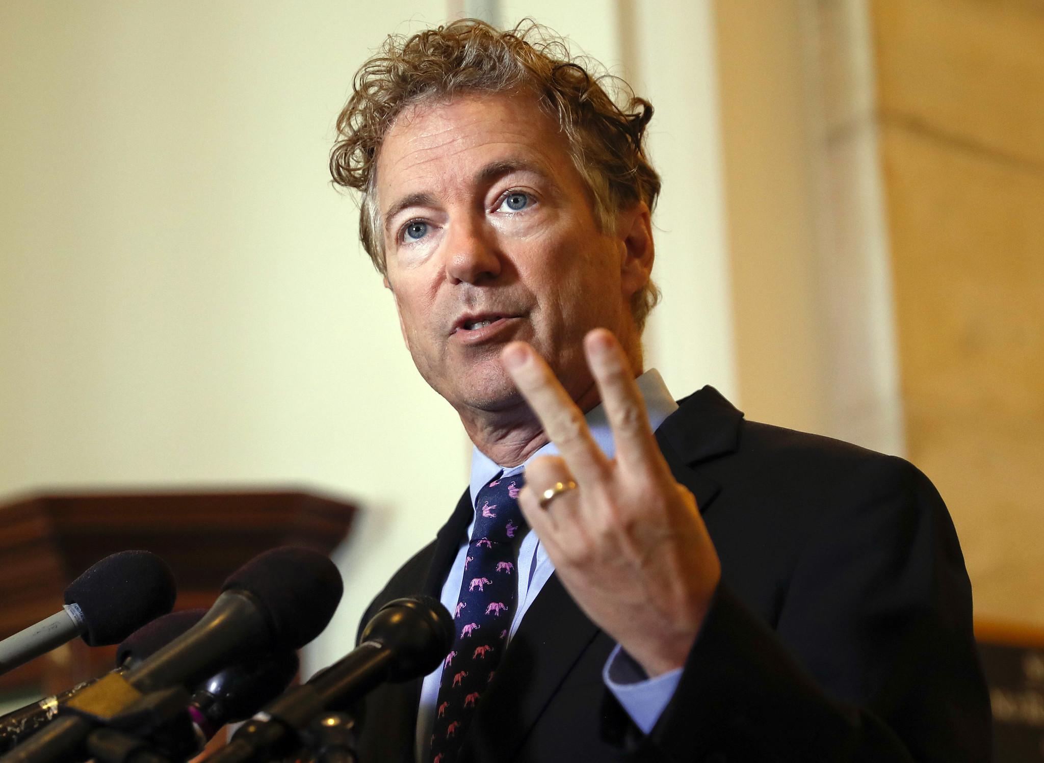 Sen. Rand Paul returns to Washington following assault